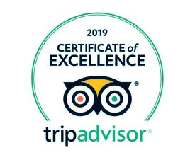 Tripadvisor Certificate of Excellence DBC