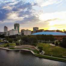Downtown Wichita Skyline