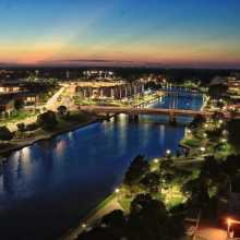 Wichita Skyline at Night