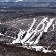 Bristol Mountain in the Winter