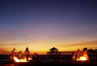 Your Guide To Beach Bonfires In Huntington Beach
