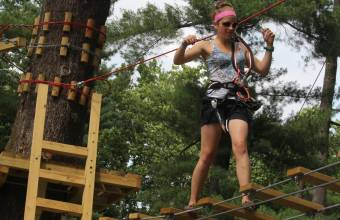 Elmwood Park Zoo Treetop Adventures Header