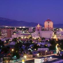 Albuquerque Skyline at Night 2