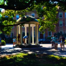 Old Well on the University of North Carolina at Chapel Hill campus