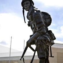 Iron Mike at the Airborne  Special Operations Museum