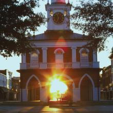 Market House sunrise