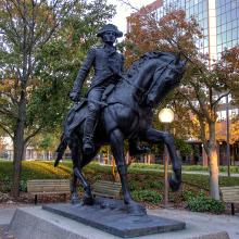 Anthony Wayne Statue in Freiman Square
