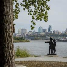 Lewis and Clark Park at Kaw Point