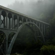 Cape Creek Bridge, Oregon Coast by Melanie Griffin
