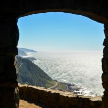 Cape Perpetua Lookout by Melanie Griffin