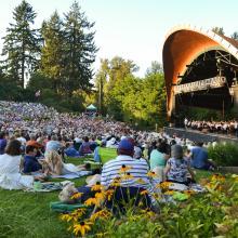 Cuthbert Amphitheater by Eugene, Cascades & Coast