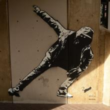 20x21 Mural Project - Blek le Rat photo by Colin Morton