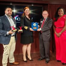 Carnival Sunrise Plaque & Key Ceremony Oct 28 2019