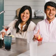 Bar J Chili Parlor and Restaurant_outdoor patio_Occoquan_couple