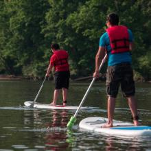 brothers paddleboarding_ Occoquan