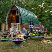 Campfire & Cabin - Explore Park in Roanoke County