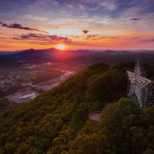 Roanoke Star Sunrise