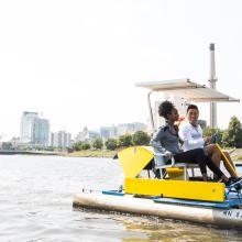 Silver Lake Paddle Boating