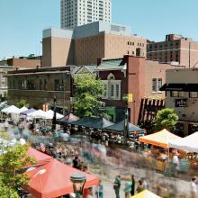 Thursdays On First and Third Summer Festival Along 1st Ave