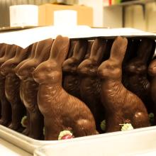 Hauser Chocolates Easter Bunnies