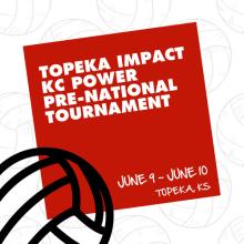 Topeka Impact/KC Power Pre-National Invitational