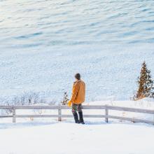 Winter Empire Bluff hike