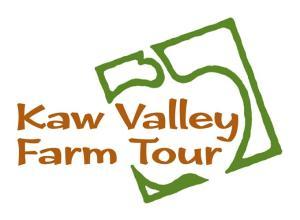 Kaw Valley Farm Tour logo