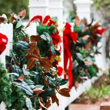 Christmas in Milledgeville fence