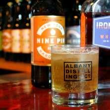 Spirit of Albany Nine Pin Albany Distilling