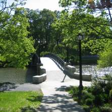 bridge at washington park