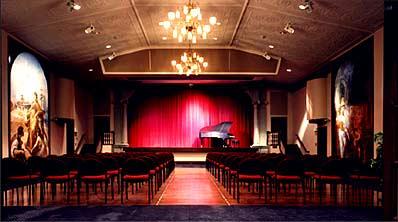 Columbian Theatre interior