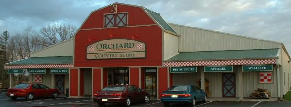 The Orchard Country Store not only carries lots of items for pets, they're good with visits from them, too!