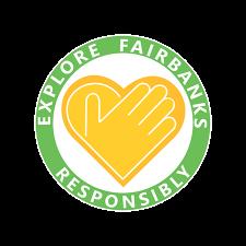 Explore Fairbanks Responsibly Pledge Badge