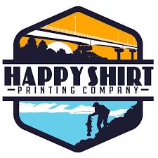 Happy shirt logo