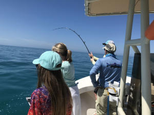 Fun family fishing with Capt. Van Hubbard