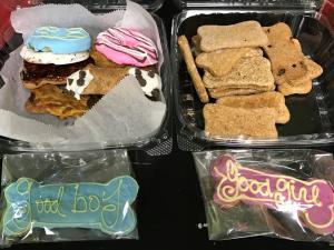 Doggie Delights dog biscuits