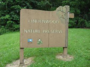 Lindenwood Nature Preserve Sign