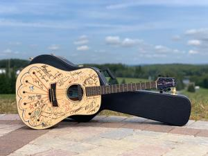 Bethel Woods Signed Guitar