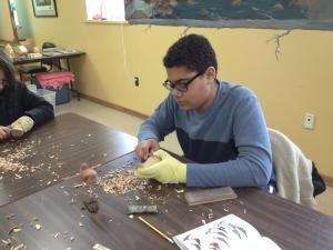 GCV&M Carving Class