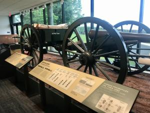 Cannon at Wilson's Creek National Battlefield