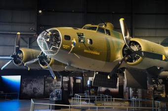 B-17 Memphis Belle in the National Museum of the United States Air Force