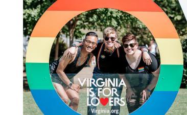 Pridefest LGBTQ bump