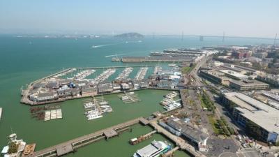 Aerial of Wharf