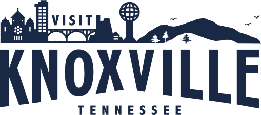 Blue Visit Knoxville Logo