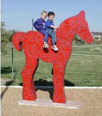 Red Pony Art Kids