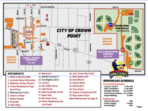 Crown Point Map