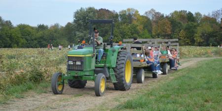 Beasley's hayride to pumpkin patch