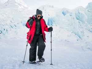 Portage Glacier winter