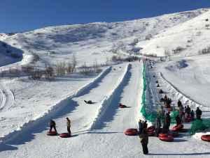 Arctic Valley tubing