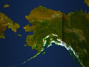 State of Alaska Map